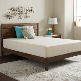 Select Luxury Swirl Gel Memory Foam 12-inch Twin-size Medium Firm Mattress