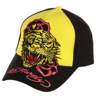 Ed Hardy Girls' 'Tiger' Embroidered Hat