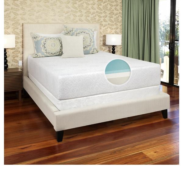 Select Luxury Gel Memory Foam 12-inch Full-size Medium Firm Mattress
