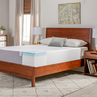 Select Luxury Swirl Gel Memory Foam 12-inch Queen-size Medium Firm Mattress