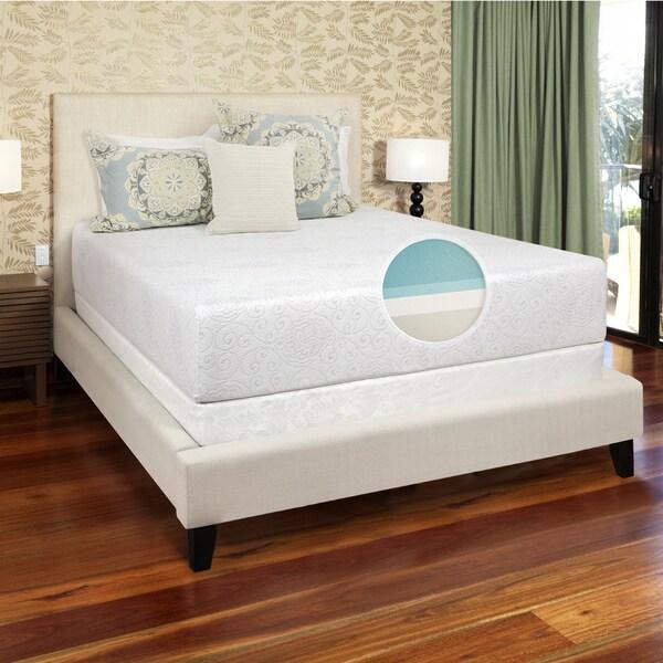 Select Luxury Gel Memory Foam 12-inch Queen-size Medium Firm Mattress