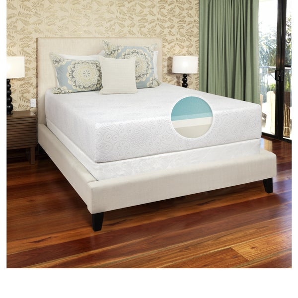 "Luxury Gel Memory Foam 12"" Firm Mattress"