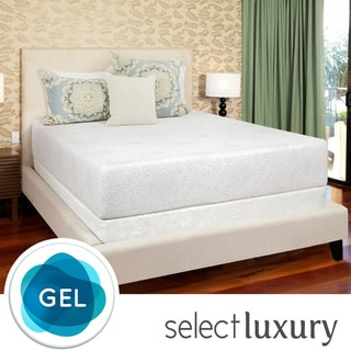 Select Luxury Gel Memory Foam 12-inch King-size Medium Firm Mattress