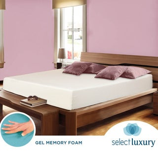 Select Luxury Swirl Gel Memory Foam 12-inch King-size Medium Firm Mattress