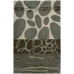 Nourison Hand-tufted Dimensions Multicolor Rug (2' x 3')