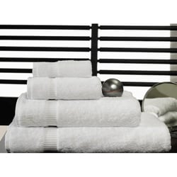 Salbakos 'Cambridge' White Turkish Cotton 8-piece Towel Set with Bath Sheets