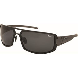 Coleman Men's Black Aluminum Polarized Sport Sunglasses