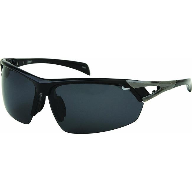 Coleman Men's CC2 Sport Black Polarized Demi Sunglasses