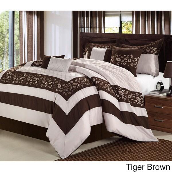 Tiger 8-piece Comforter Set