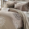 Cheila Taupe 8-piece Comforter Set