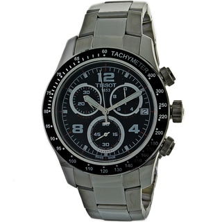 Tissot Men's 'V8' Chronograph Stainless Steel Watch