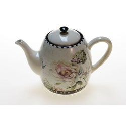 Certified International 'Marche De Fleurs' Teapot