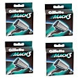 Gillette Mach3 8-count Refill Cartridges (Pack of 4)