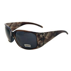 Women's Noir Brown Paisley Fashion Sunglasses