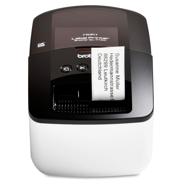 Brother QL-710W Direct Thermal Printer - Monochrome - Desktop - Label