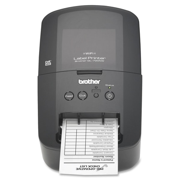 Brother QL-720NW Direct Thermal Printer - Monochrome - Desktop - Labe