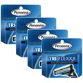Personna Tri-flexxx Refill Cartridges (Pack of 4)