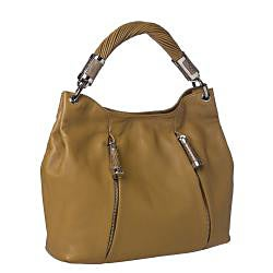 Michael Kors 'Tonne' Sage Leather Hobo Bag