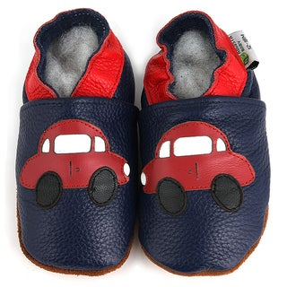 Car's Soft Sole Leather Baby Shoes