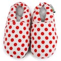 Red Dot Baby Soft Sole Canvas Shoe