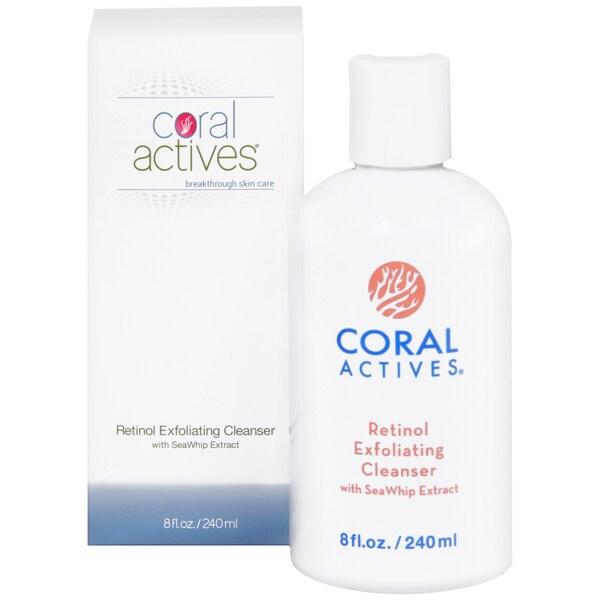 CoralActives Retinol Exfoliating Cleanser