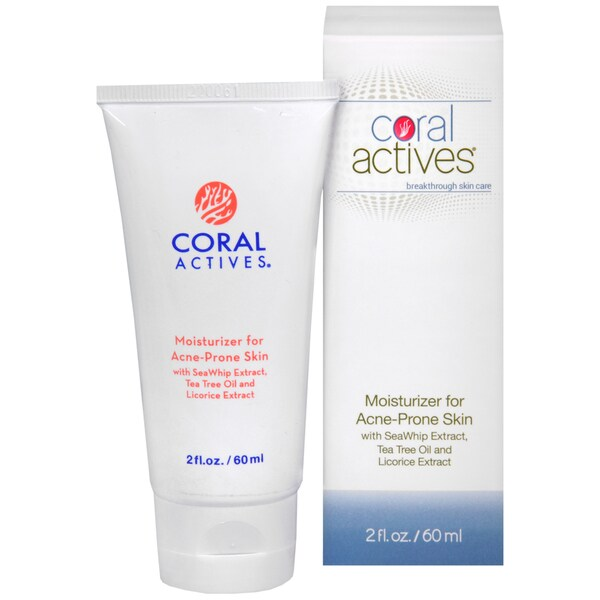 CoralActives Moisturizer with Natural Ingredients for Acne-prone Skin