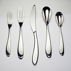 David Shaw Andorra 45-piece Flatware Set