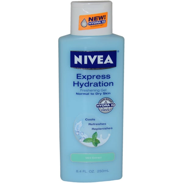 Nivea Express Hydration Mint Extract 8.4-ounce Freshening Gel