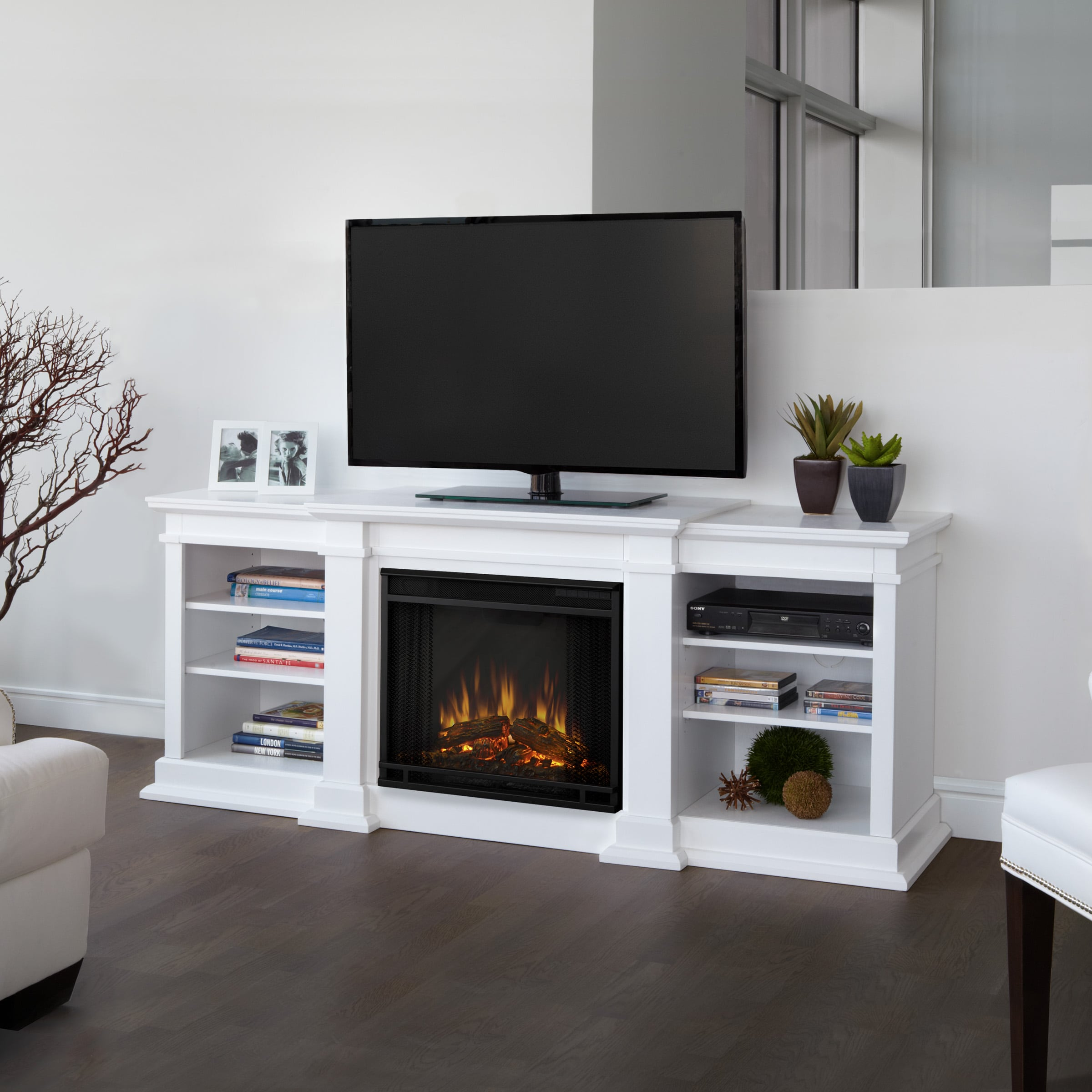Real Flame G1200E-W Fireplace at Sears.com