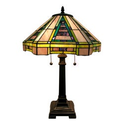 Warehouse of Tiffany Indoor Bronze Finish Lamp