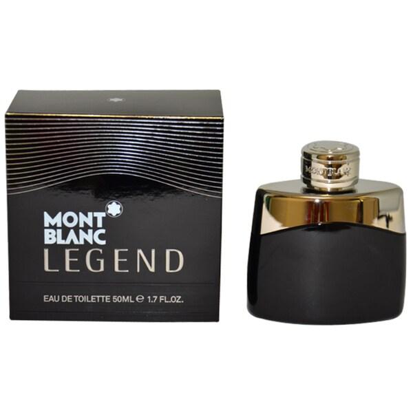 Mont Blanc Legend Men's 1.7-ounce Eau de Toilette Spray