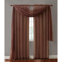 Infinity Sheer Rod Pocket Curtain Panel