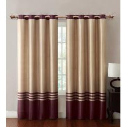 Barclay Faux Silk Grommet Top 84-inch Panel