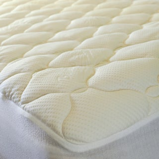 Plush Twin XL-size Mattress Pad For Dorm Rooms
