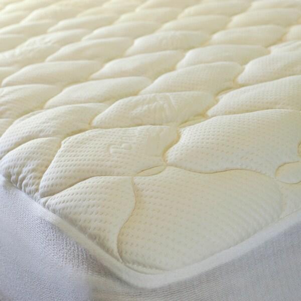 Plush Twin XL-size Mattress Pad For Dorm Rooms
