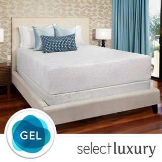 Select Luxury Gel Memory Foam 14-inch Twin-Size Medium Firm Mattress