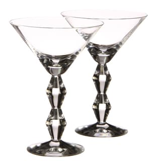 Rogaska Crystal Juliet Martini Glasses (Set of 2)