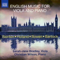 Christian Wilson - English Music for Viola and Piano