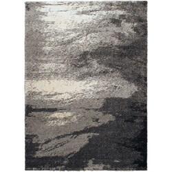 Heaven Nimbus I Stone Shag Rug (5'5 x 7'7)