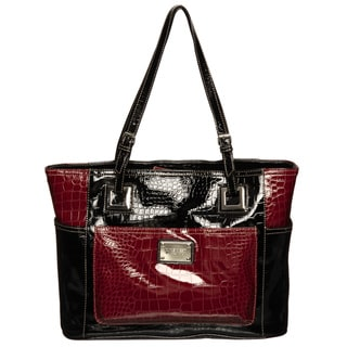 Nine West Blocked Heritage Tote Bag