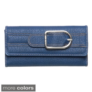 Nine West Bristo Buckle-embellished Wallet