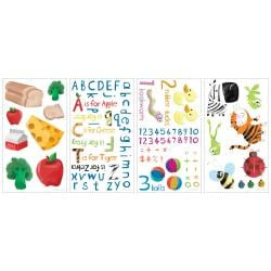 RoomMates Education Station Peel and Stick Wall Decals
