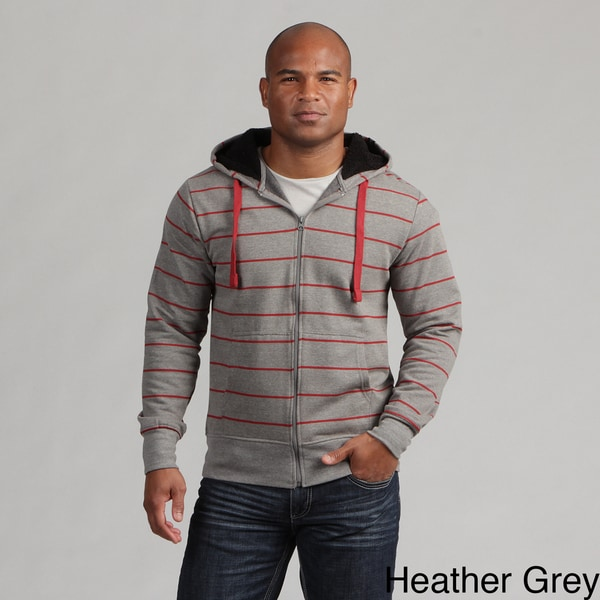 Company 81 Young Men's Striped Zip Up Hoodie