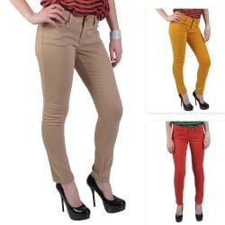 Journee Collection Junior's Classic Stretchy Skinny Pants