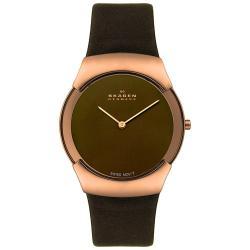 Skagen Men's Swiss Rose-goldtone Watch
