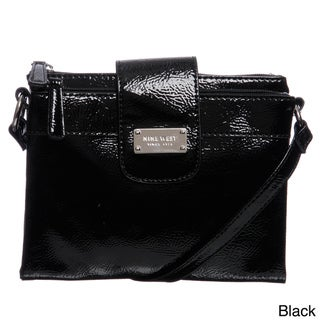 Nine West Patent Tex Small Crossbody
