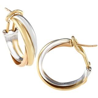 Cartier 18-karat Gold Trinity Earrings