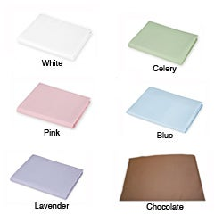 American Baby Company Cotton Percale Portable Crib Sheet