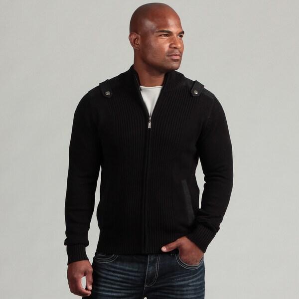 XRay Jeans Men's Epaulette Detail Sweater
