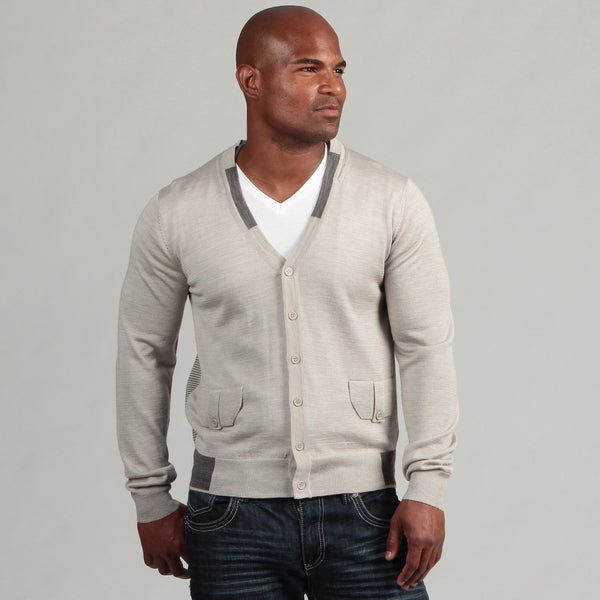 XRay Jeans Men's Grey Cardigan